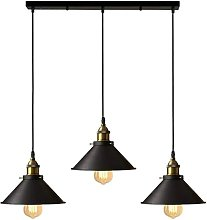 Suspension industrielle vintage luminaire