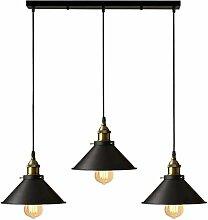 Suspension industrielle vintage luminaire