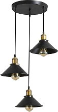 Suspension industrielle vintage luminaire en