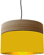 Suspension jaune moutarde d 60 cm