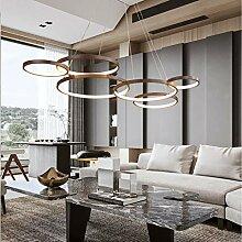 Suspension LED Dimmable 88W Lampe de lustre simple