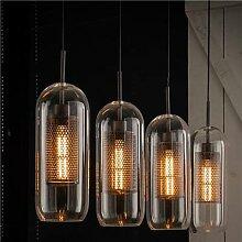 Suspension luminaire en verre moderne DONALD