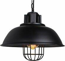 Suspension Luminaire Industrielle, iDEGU Ø33CM
