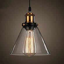 Suspension Luminaire Industrielle Vintage Rétro