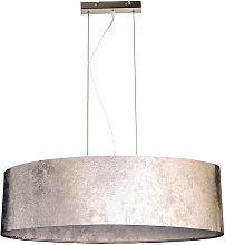 Suspension luminaire lustre salle de séjour tissu