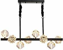 Suspension Luminaire Luxe Lustre en cristal Lampe