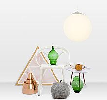 Suspension moderne en verre 40cm - Ball
