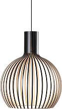 Suspension Octo 4241 au design scandinave en bois