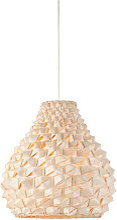 Suspension origami conique bambou