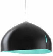 Suspension Oru / Ø 56 cm - Fabbian bleu/noir en