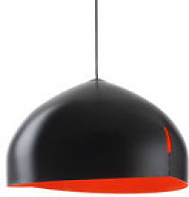 Suspension Oru / Ø 56 cm - Fabbian rouge/noir en