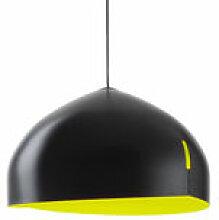 Suspension Oru / Ø 56 cm - Fabbian vert/noir en