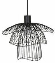 Suspension Papillon XS / Ø 30 cm - Forestier noir