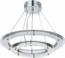 Suspension plafonnier lampe 18W LED lumière