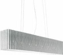 Suspension Plissé extensible - Luceplan blanc en
