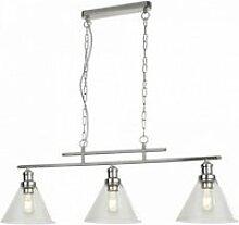 Suspension pyramide 3 ampoules cc abat-jour en