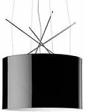 Suspension Ray S - Flos noir en métal