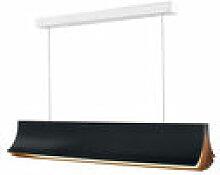 Suspension Respiro LED / L 90 cm - Aluminium - DCW