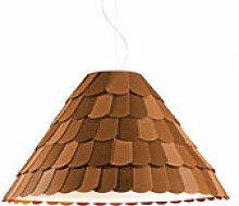 Suspension Roofer abat-jour conique - Fabbian