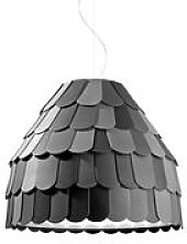 Suspension Roofer - Fabbian gris en matière