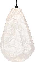 Suspension scandinave en papier blanc - Pepa Cono