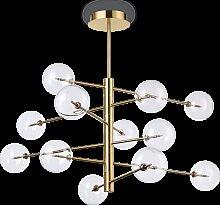 Suspension Splendida 12 lampes avec abat-jour en