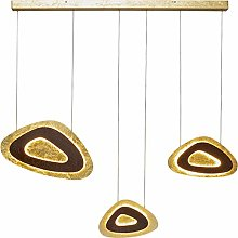 Suspension Triangolo Tre LED 120 cm