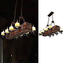 Suspension Vintage LED Lustre Industriel Rétro
