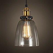 Suspension Vintage Luminaire Industriel Abat-jour