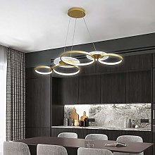 Suspensions Luminaire LED Modern 4-Cercle Lampe