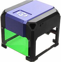 Swagx - 1500mW 80x80mm USB bureau Mini graveur