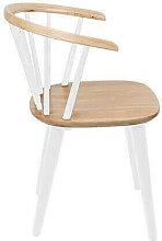 SWEEDISH - Chaise en bois d'hévéa style