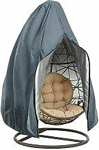 Swing Housse Chaise, 210D Oxford Tissu Argenté