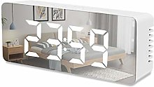 SWNN réveil Miroir Électronique Réveil LED