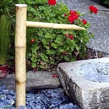 SXFYHXY Accents en Bambou Fontaine à Eau De