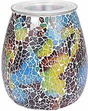 Sxiocta Lampe décorative darôme de mosaïque,
