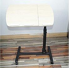 SYFANG Table d'appoint de lit réglable en