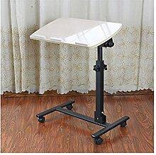SYFANG Table Pliante latérale de lit réglable en