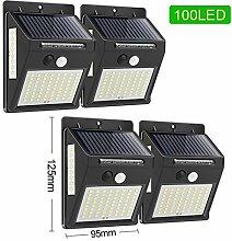 Sygjal 100 LED Solaire lumière de Mouvement Lampe
