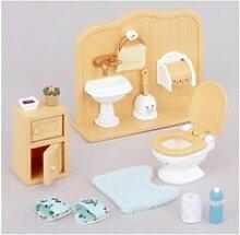Sylvanian ensemble toilettes 5020