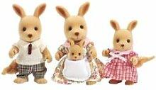 Sylvanian families - famille kangourou 3148