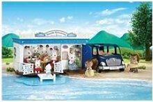 Sylvanian families - restaurant de bord de mer