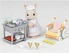 Sylvanian infirmiere et accessoires 2816