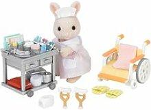 Sylvanian infirmiere et accessoires 5094