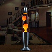 Sylvialuca Base en métal Lampe à Lave Cire Style