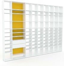 Système d'étagère - Blanc, modulable,