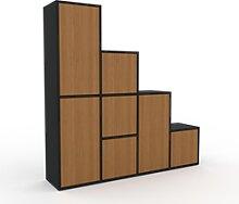 Système d'étagère - Chêne, modulable,