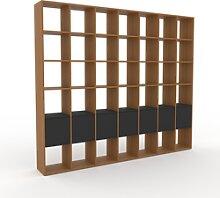Système d'étagère - Graphite, modulable,