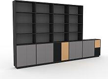 Système d'étagère - Gris, modulable,