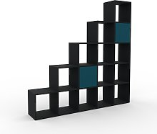 Système d'étagère - Noir, modulable,
